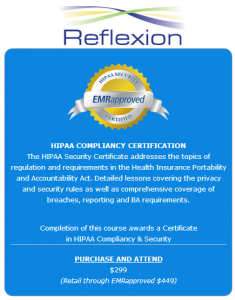 HIPAA Training from Reflexion