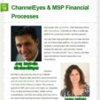 ChannelEyes & MSP Financial Processes